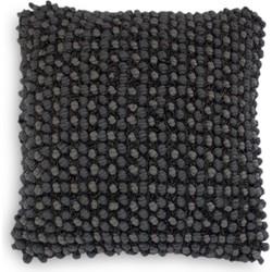Sierkussen Elva 45x45 cm anthracite - 60% Polyester 40% Katoen