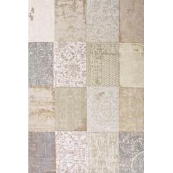 Louis de Poortere Karpet Cameo Collection Multi Pinch of Cinnamon 8236 - 230 x 230 cm