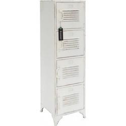 Rootsmann Locker 4 deuren | wit