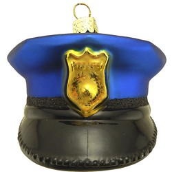 Noble Gems Police Hat 3.75 Inch