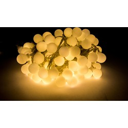 Groenovatie LED Feestverlichting Prikkabel, Warm Wit, 10 Meter, Waterdicht IP44