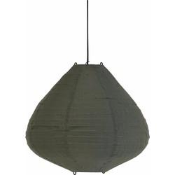 hanglamp lampion groen 50cm