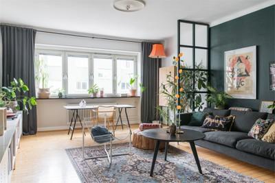 Shop the look: woonkamer met donkere muren