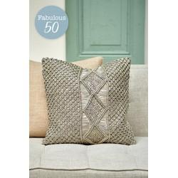 Rivièra Maison Macrame Pillow Cover 50x50-Sierkussen