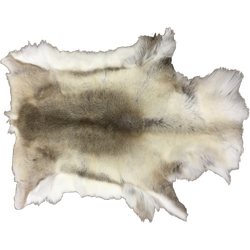 IJslands rendier - ongekleurd - wit/grijs