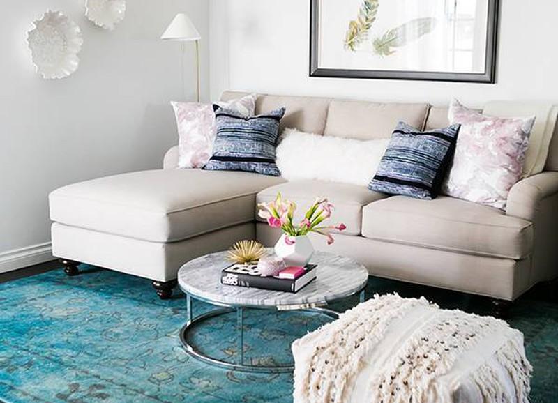 6 interieurtips voor kleine, chique woonkamers