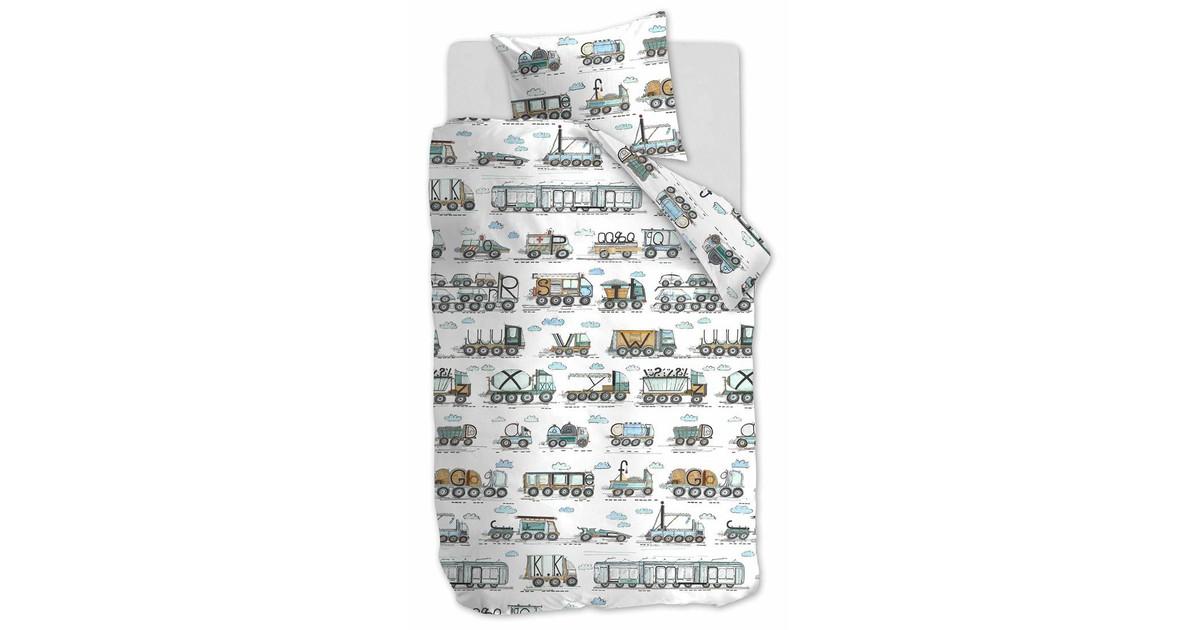 Beddinghouse Kids Dekbedovertrek Letter Car