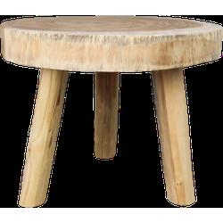 Salontafel - rond - ø40 cm - munggur