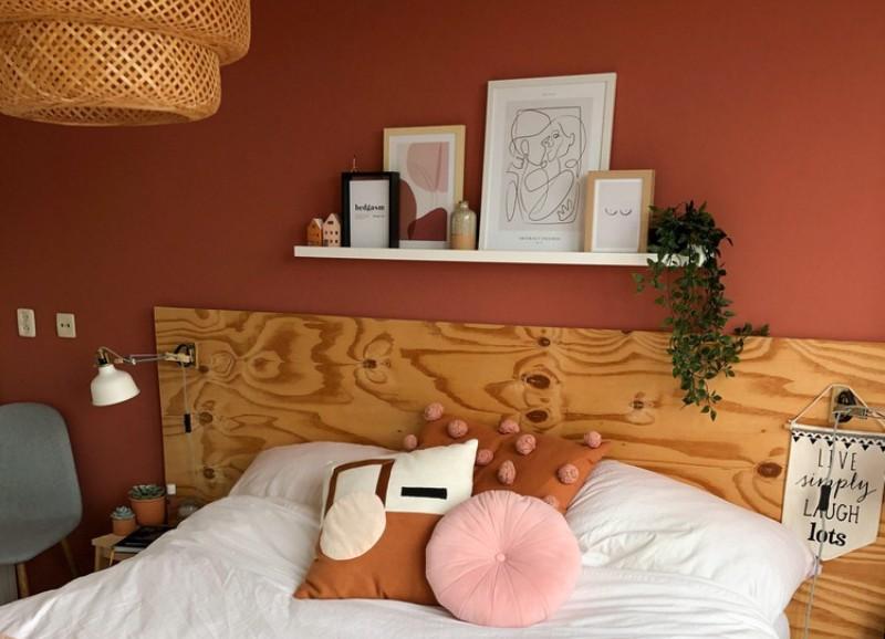 Inspiratie: een wandplank boven je bed