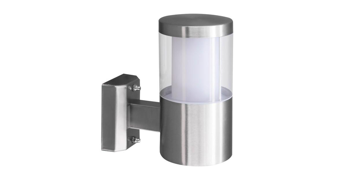 Eglo Basalgo 1 Buitenverlichting Wandlamp 1 Lichts LED RVS Helder, Wit online kopen