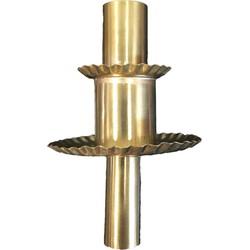 bottle candle tutu, copper/silver - copper