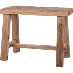 Cozy Ibiza - Teak houten kruk
