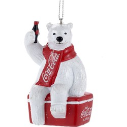 Coca-Cola Polar Bear On Cooler 3.5 Inch