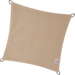 Nesling Coolfit schaduwdoek vierkant 3.6x3.6x3.6x3.6m - Gebroken Wit