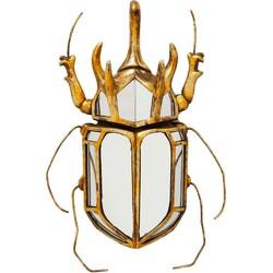 muurdecoratie beetle mirror 36.5 x 27.5 x 6.5
