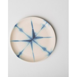 UNC MEETS INDIGO - Plate Yoko