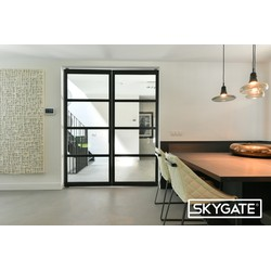 Dubbele stalen deur (Links) - 2315x1859mm - Skygate
