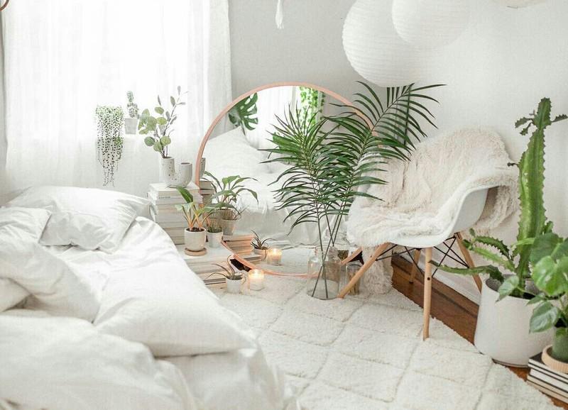 Zo maak je van je slaapkamer een urban jungle