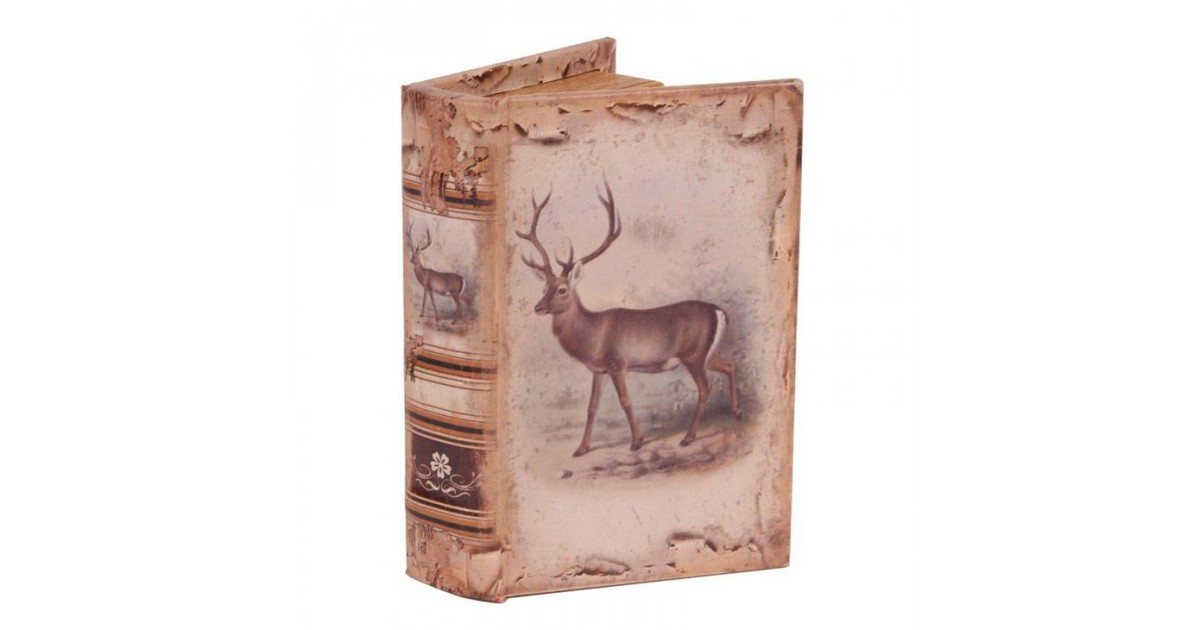 Baroque Collectie Boek doos 15 cm Hert
