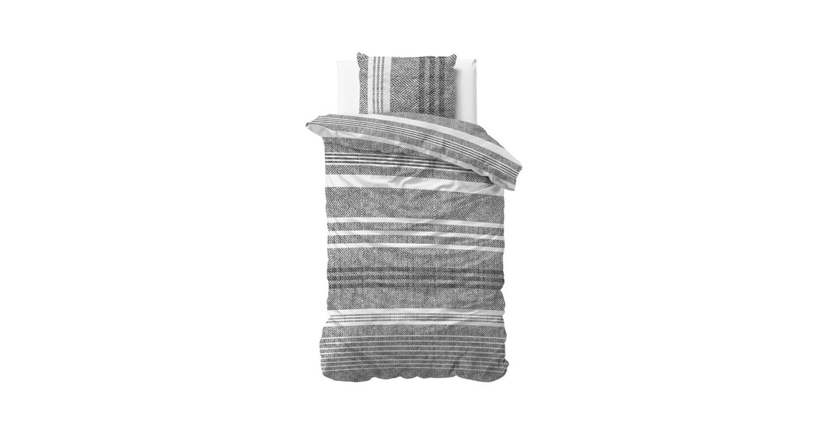 Dreamhouse Dekbedovertrek Caden Grey-140x200/220