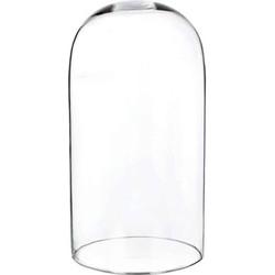 Glazen stolp H 36 cm x ø 20,5 cm