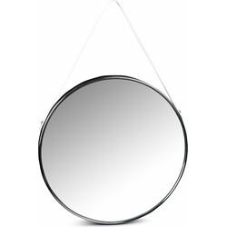Lanterfant® Olivia - Spiegel - Wandspiegel - Rond - Staal - Chrome
