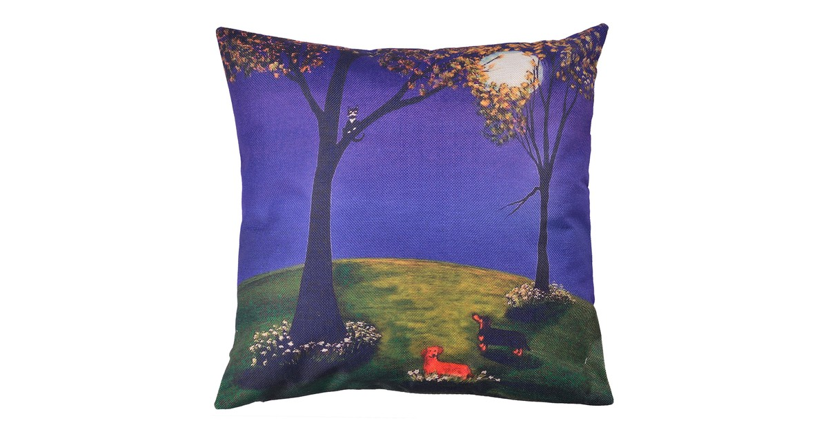 Clayre & Eef Kussenhoes - 43*43 cm - multi - 100% polyester -  - KT021.239