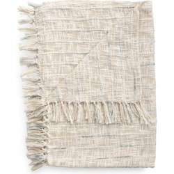 Plaid Cilian 140x220 cm off-white - 65% Acryl 35% Polyester