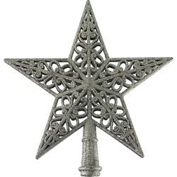 Kerstboompiek ster - Glitter - PTMD