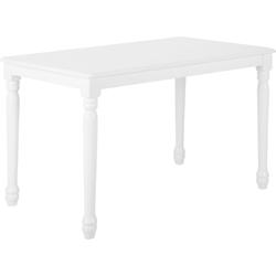 Eettafel wit 120 x 75 cm CARY