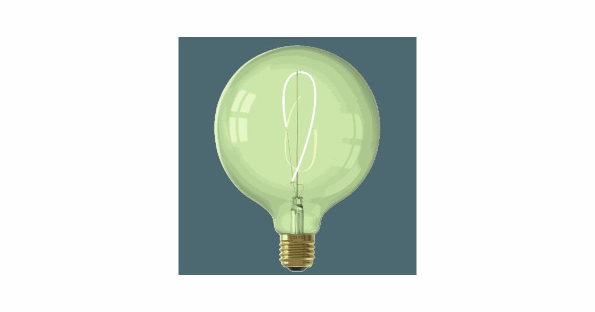 Nora LED colors Globe G125 soft U-filament 240V 4W E27 Emerald Green