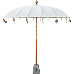 Todo Bien Bali parasol crme 250 cm