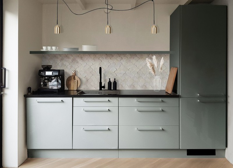 De kleur groen toevoegen in je keuken