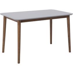 Eettafel hout grijs 118 x 77 cm MODESTO