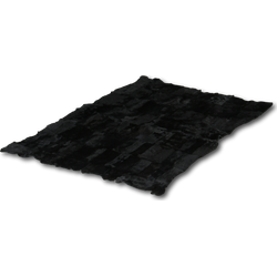 Patchwork plaid Black