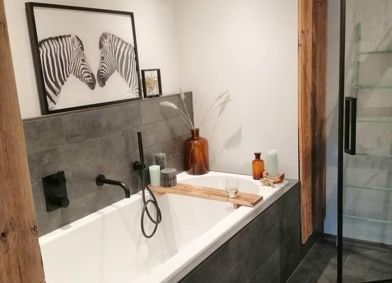 Even bijkomen in je eigen badkamer