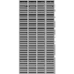 Tolhuijs Fency Rack 80x160 cm - White