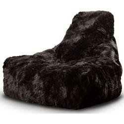 Extreme Lounging B-Bag Mighty-B Indoor Zitzak Sheepskin - Bruin