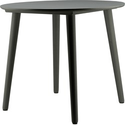 BY-BOO Ronde Eettafel Sublime - Ø90 X H75 Cm - Antraciet