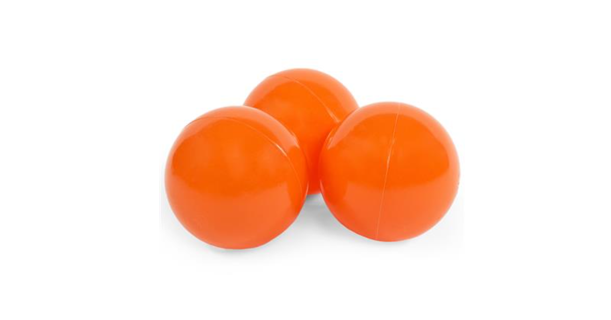 Misioo Ballen, 50 stuks   Orange