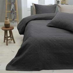 Bedsprei Sleeptime Wave Anthracite