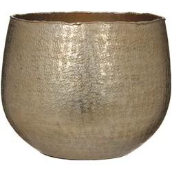 Casa Vivante capeno ronde pot goud mat maat in cm: 20 x 24