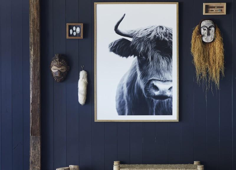 Inspiratie: de mooiste interieurs met donkerblauwe wanden