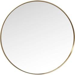spiegel curve rond messing ø100