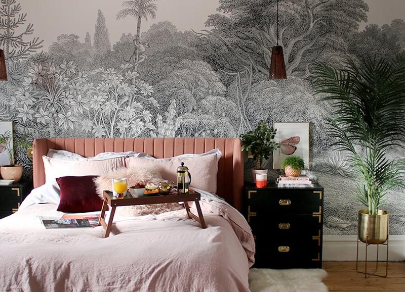 5x de leukste ideeën om de wand achter je bed te stylen