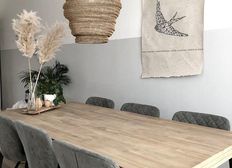 20x de mooiste hanglampen voor boven jouw houten tafel