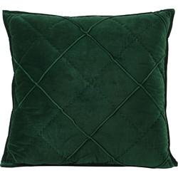 kussen diamond groen velvet 50 x 50