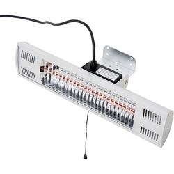 Elektrische terrasverwarming met handvat - terrasstraler - halogeenstraler - muur - FUEGO