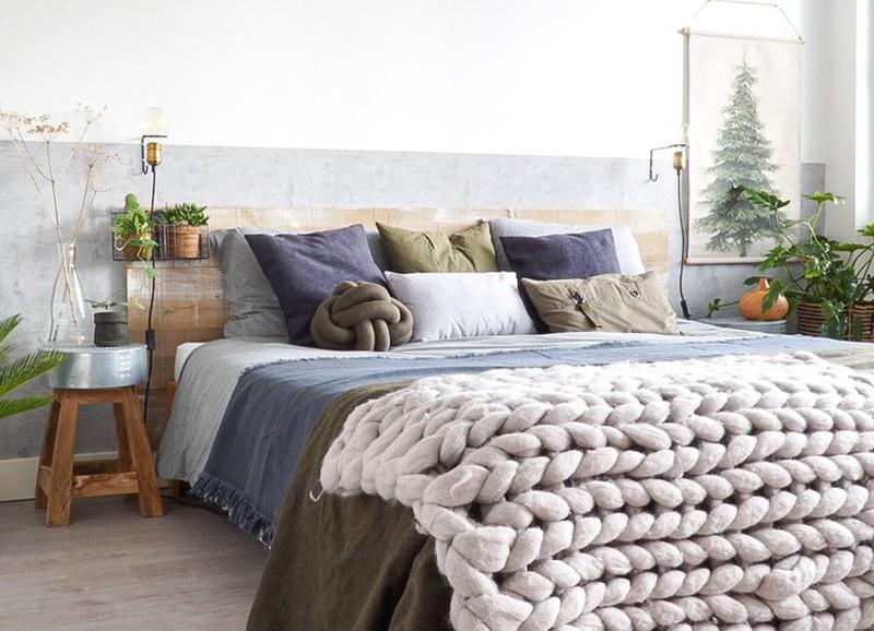 Shop the look: stoere slaapkamer met natuurlijke materialen