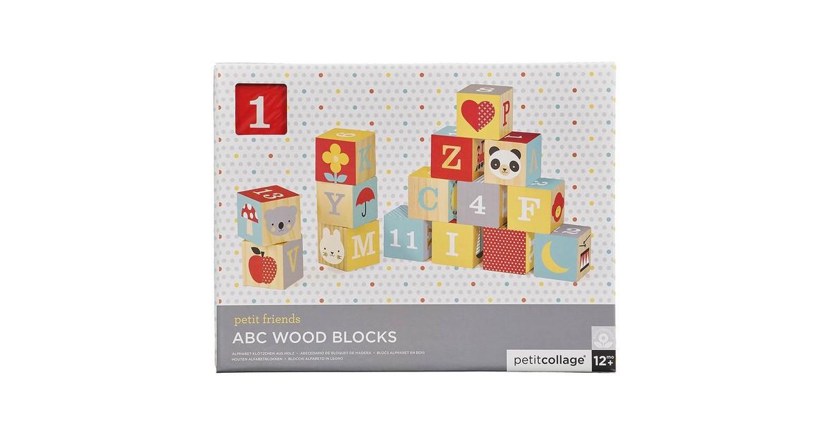 Petit Collage Houten Blokken ABC